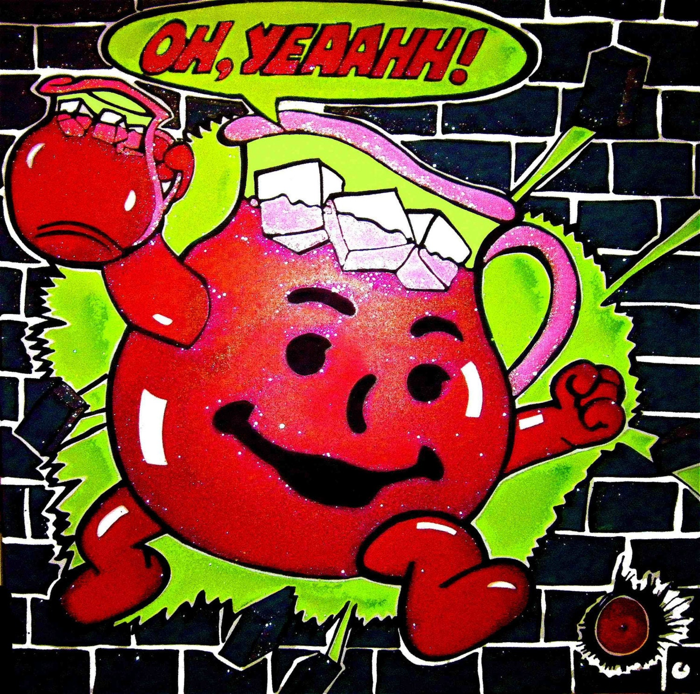 Koolaid Man Oh Yeaahhhhhhh Ohh Yeah Kool Aid