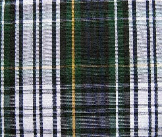 6 Yards Gordon Dress Tartan Plaid Fabric