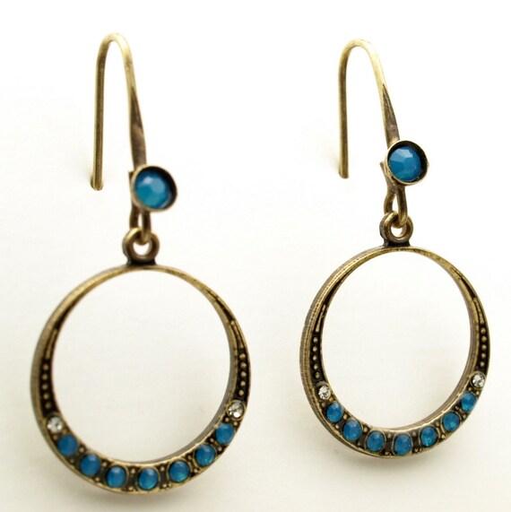 Delicate Blue Earrings