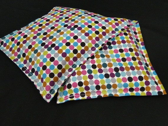 Microwavable Heat Pad Hot/ Cold Therapy- ITS A GIRL THING- Corn Bag for pain relating to Womens Health Issues- Mod Dot