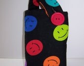 Smiley Face Cell Phone Pouch