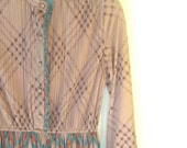 Vintage Hal Ferman Designer Long Boho Dress