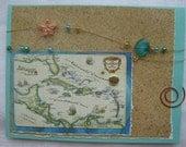 Winter Dreaming Caribbean Cruise Handmade Card
