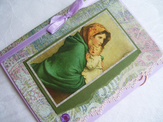 Madonna of the Streets Handmade Card