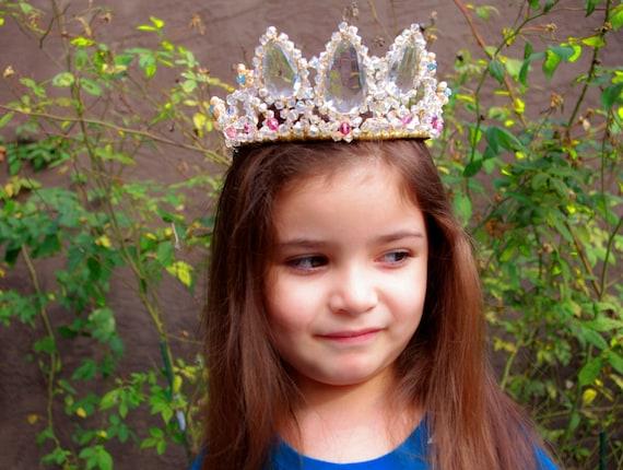 Ultimate Rapunzel Inspired Crown Tiara  for dress up, Halloween, Birthday,