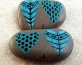 painted stone / blue valentine / aegean 3
