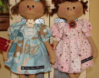 Pattern Chelsea Doll by Jacky Ayres Designs