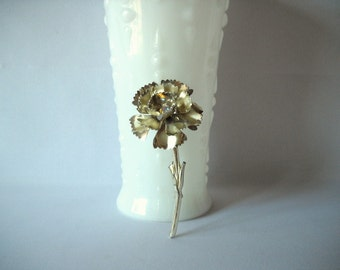 Vintage Brooch Vintage Rhinestone Vintage Pin Rhinestone Flower Rhinestone Brooch Flower  Brooch