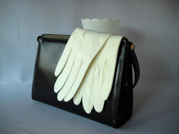 Vintage Gloves White Kid Gloves White Gloves Ladies Who Lunch Mad Men Wedding Bridesmaid Prom Fashion Debutante