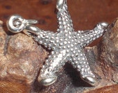 Sterling Silver Star Fish Charm