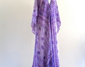 SuLtaNa by aDini BoHO inDia Cotton MetaLLic Hippie FeStiVaL MaXi CafTan DreSs . Free Size . D013 .