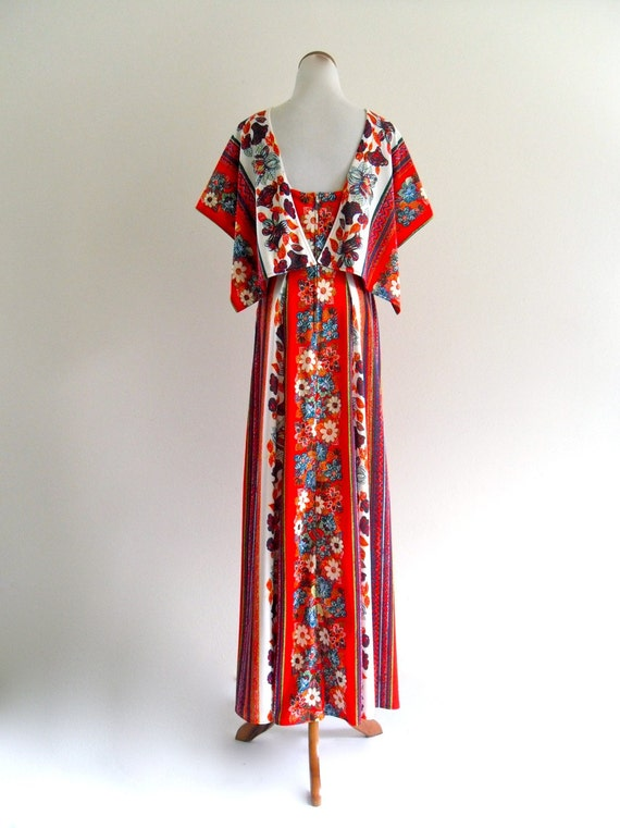 reserved . JaCk HaRtLey MiaMi BoHo FluTTer Maxi GoWn Dress . small . SM . medium . D161