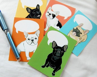 Convo Frenchie Valentines - Eco-friendly Set of 5