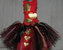 Queen of Hearts Shirt, Adult Halloween Shirt, Dress Up Clothes, Costume Party, Halloween Shirt for Girls, Ready to Ship Shirts