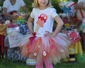 Ice Cream Cone Shirt, Girl Birthday Shirt, Halloween Shirt, Dress Up Shirt, Ice Cream Theme Birthday, Summer Shirt, Sweets Theme Party