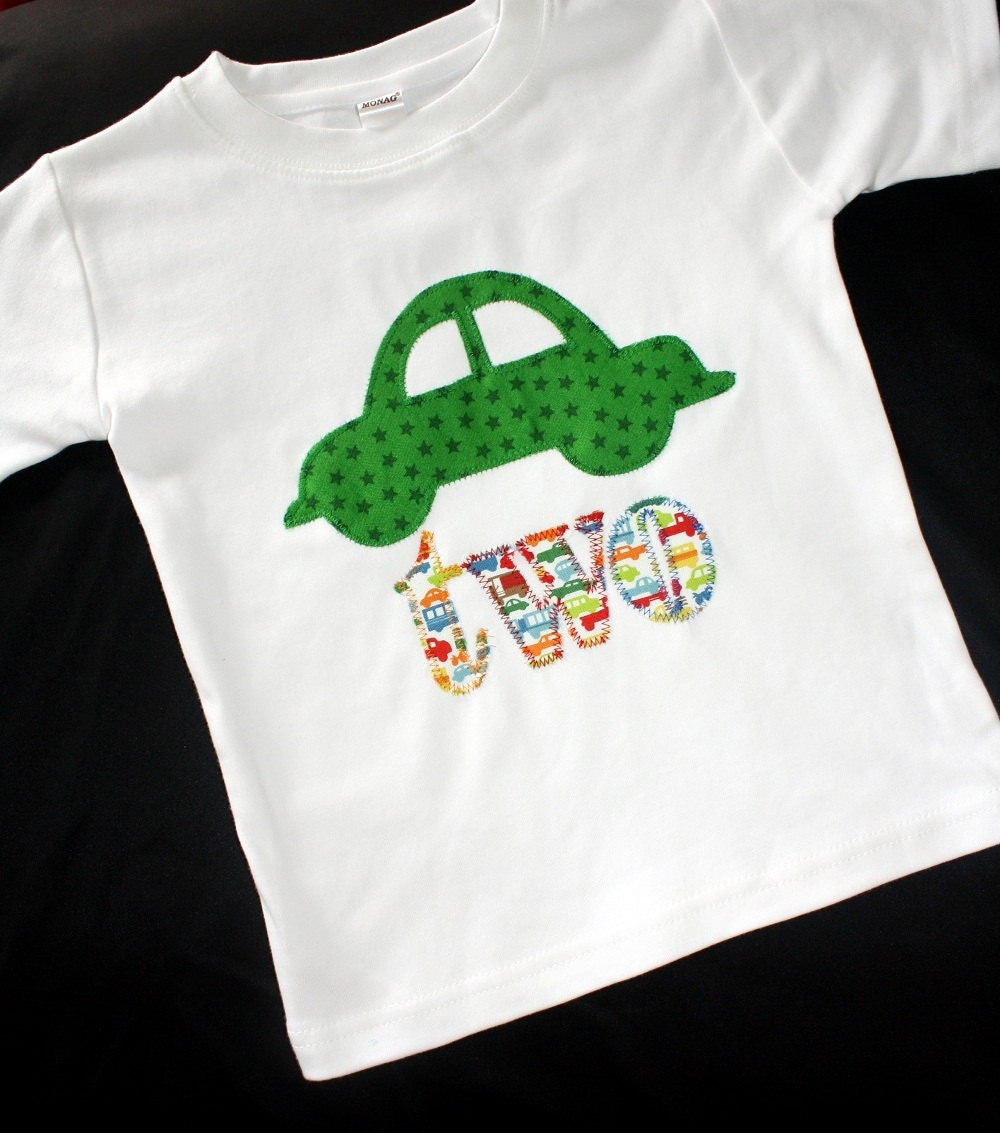 Birthday Shirt For Boys 2nd Birthday Outfit By Makmaydesigns