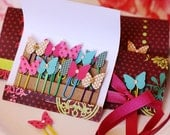 Wild Butterfly PaperClips