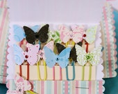 Lovely Butterfly PaperClips