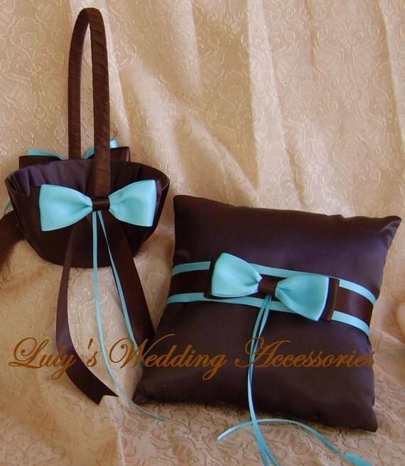 Tiffany Blue And Black Wedding Ideas: Chocolate Brown And Tiffany Blue Wedding Color Scheme Flower