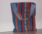 The Orange Stripe Bag Plus It Can Be Used As A Bookbag Bag