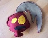 Randall the Radish Zombie Dog Toy
