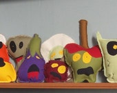 Set of Zombie Toys- Reserved for e mink