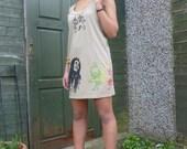 Short Khaki RASTA  Bob Marley dress sz S,M,L