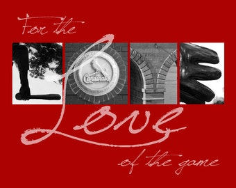 "St. Louis Cardinals ""For the Love of the Game"" Photographic Print"