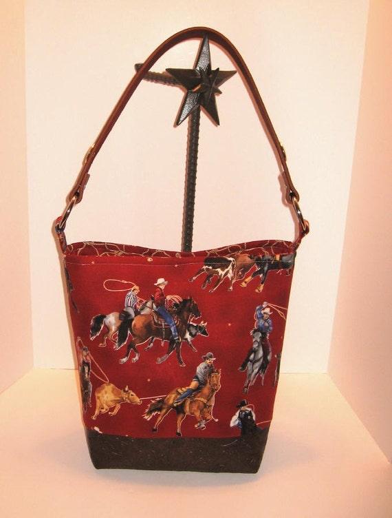 Cowboy Diaper Bags : Cowboy baby team roper calf rodeo diaper bag tote