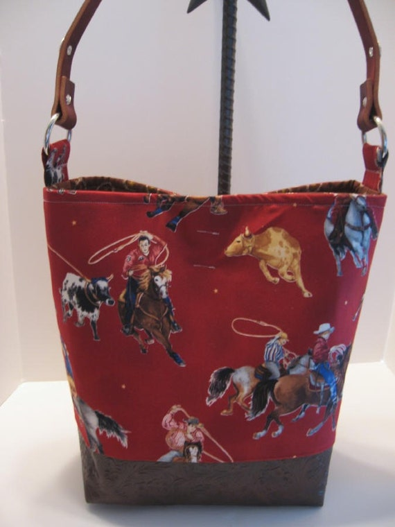 Cowboy Diaper Bags : Cowboy baby team roper calf rodeo diaper bag tote ready