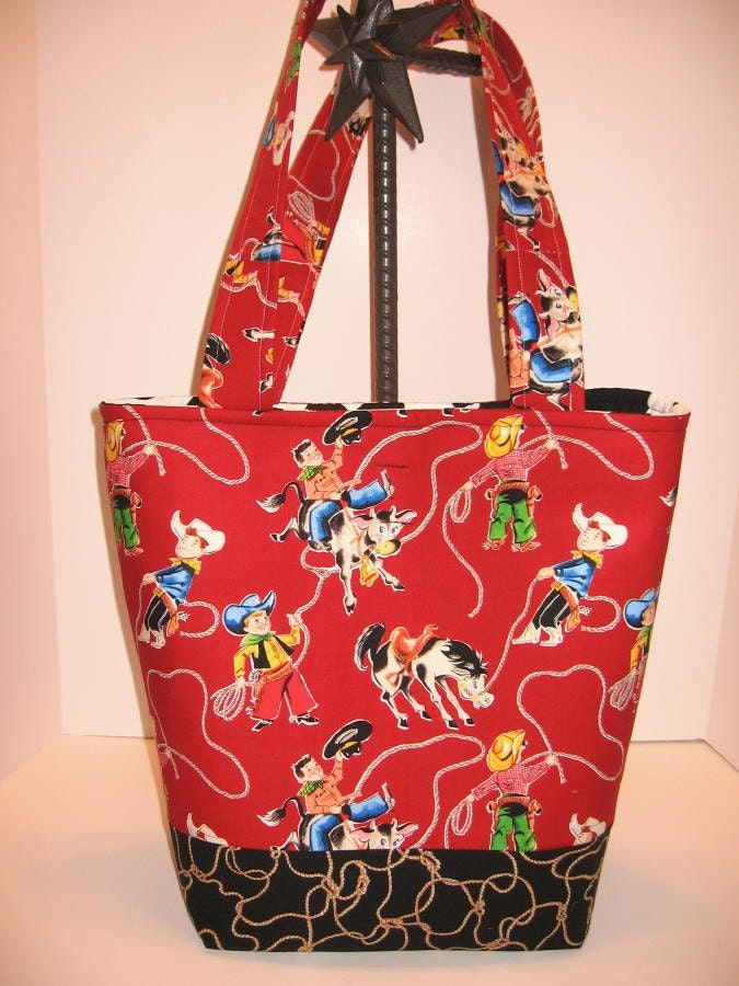 Cowboy Diaper Bags : Cowboy baby roping riding diaper bag tote on sale