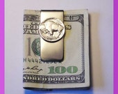 Buffalo Nickel Money Clip Tails