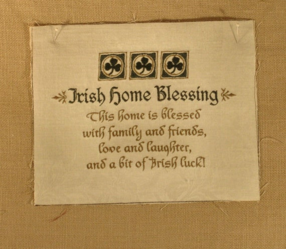 Irish Home Blessing Diy Project Ready Family Friends Love