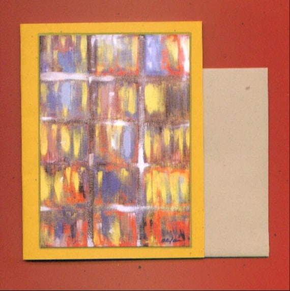 Untitled Number 127 Fine Art Blank Note Card