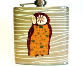 Cocktail Chic Flask - Owl Love 6 oz