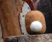 Deluxe Vicuna and Cashmere Bunny Egg WOOLY  Ready to Ship