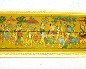 Vintage Dola Jatra Blank Card - Unused with matching envelope