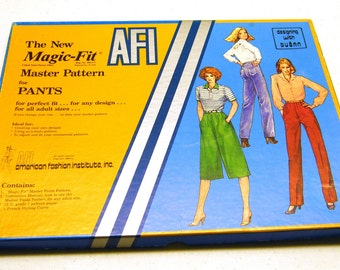 Vintage NEW Magic-Fit Master Pants Pattern for all adult sizes and designs