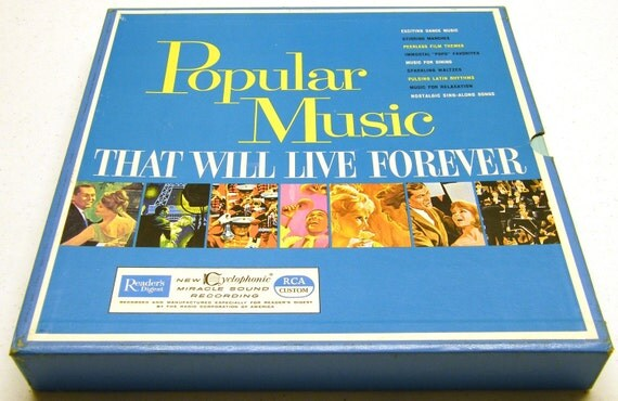 Popular Music That Will Live Forever vinyl record collection