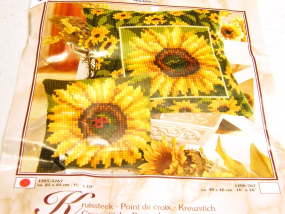 Sunflower Crewel Kit