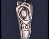 RAVEN- Pendant- Sterling Silver
