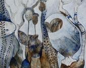 Original Painting - Silent Owl