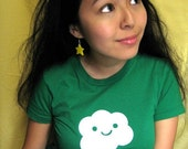 SALE happy cloud shirt