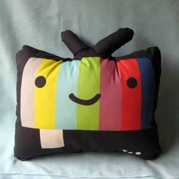 TV pillow plush