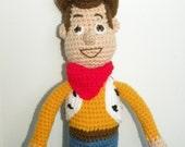 PDF - Woody  - 15 inches amigurumi doll crochet pattern