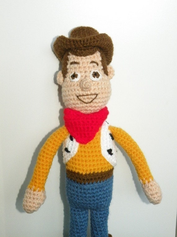 PDF Woody 15 inches amigurumi doll crochet pattern