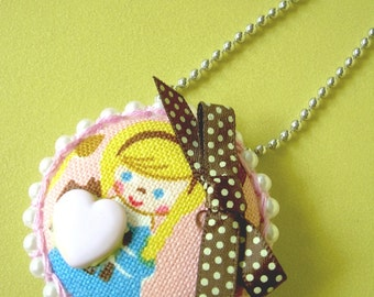 Sweet Dorothy - Pendant / Necklace / Brooch