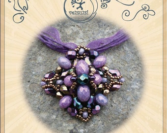 Jeromos pendant... PDF instruction for personal use only- tutorial, pattern