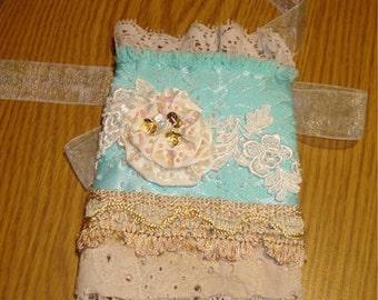 textile cuff wristlet