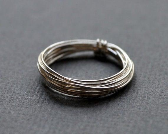 Ring. Modern Contemporary Simple Sleek Elegant Design.